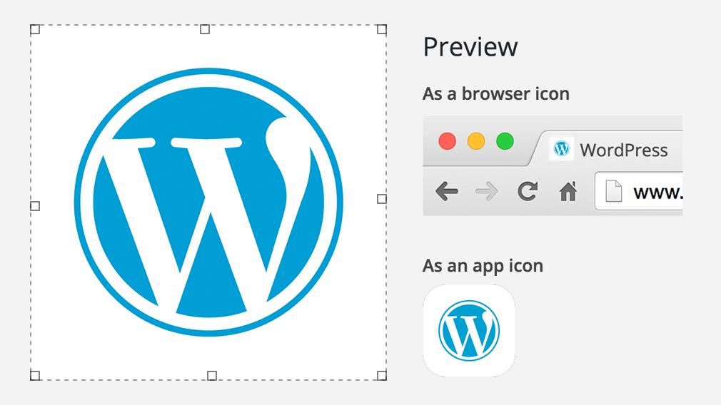 WordPress Site Icon