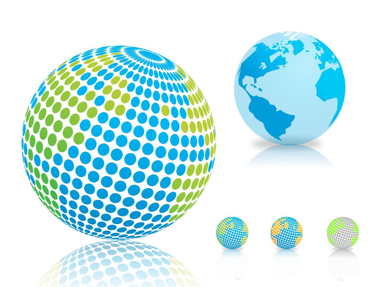 vector world globe designs rkvectors quality free vector gra
