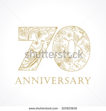 70th Birthday Templates