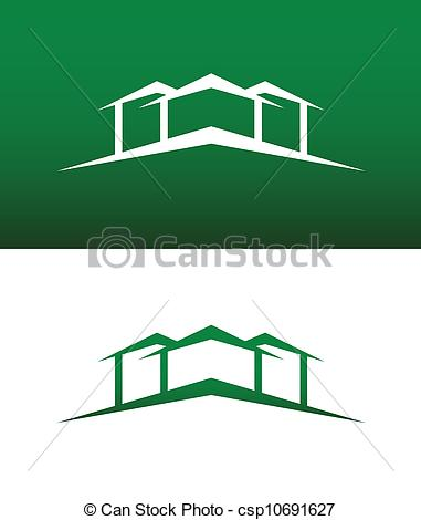 Abstract House Clip Art