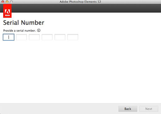 Adobe Photoshop Elements 12 Serial Number