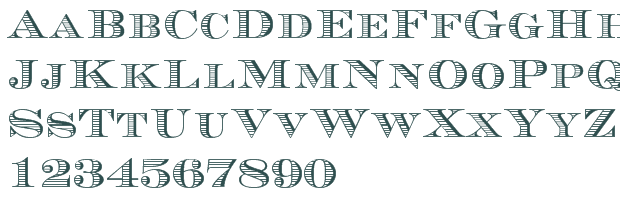 American Money Font