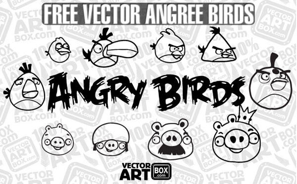 Angry Bird Sketch