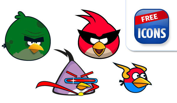 Angry Birds Free Clip Art