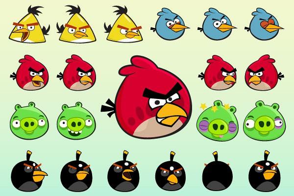 Angry Birds Vectors