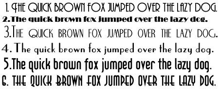 Art Deco Font Download