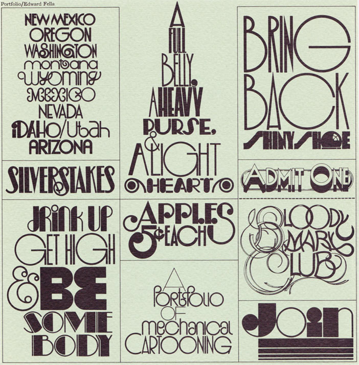 11 Art Deco Font Styles Examples Images