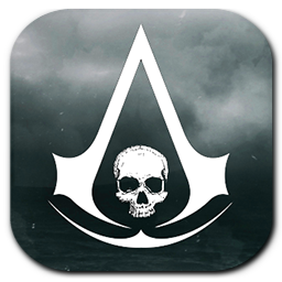 13 Black Flag Icon Images Assassin S Creed Black Flag Logo Red