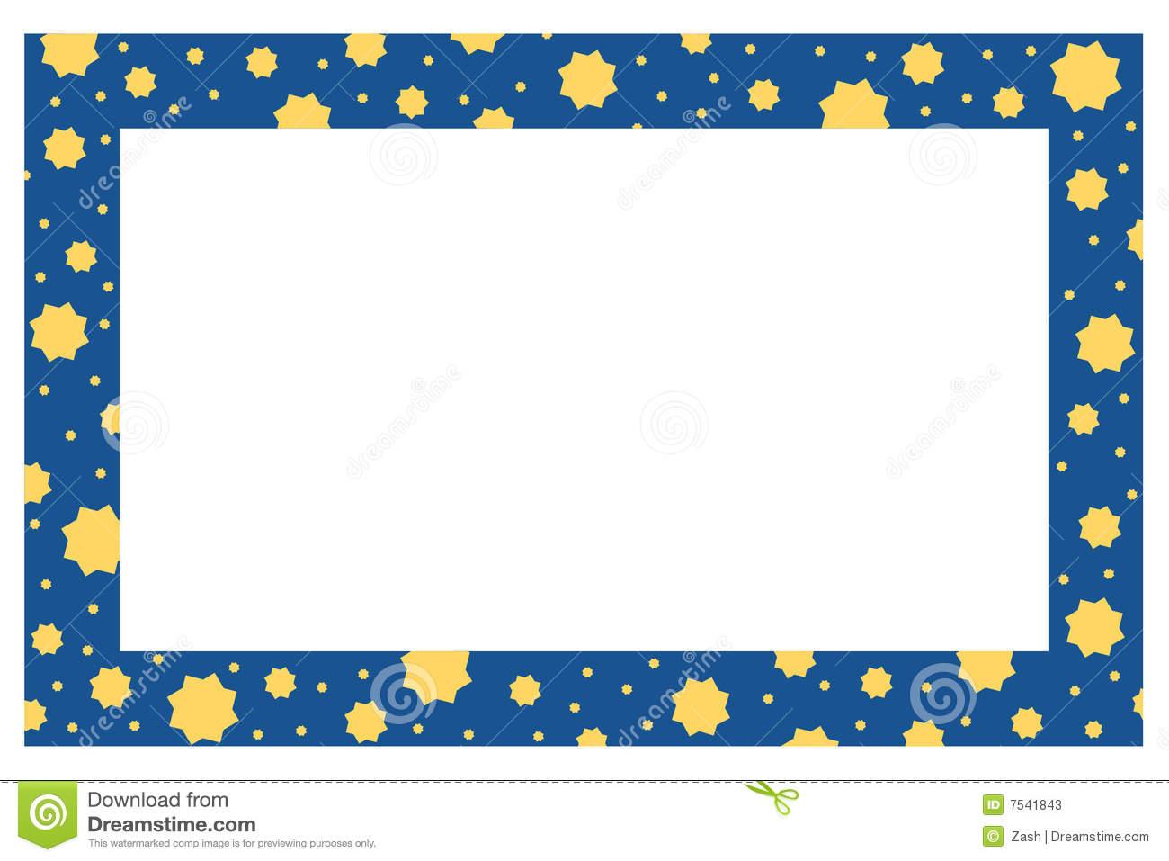 blue border designs