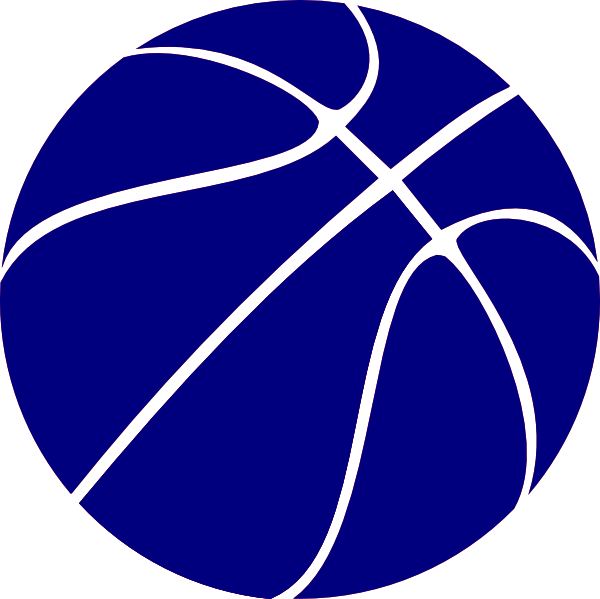 14 Blue Basketball Graphic Images