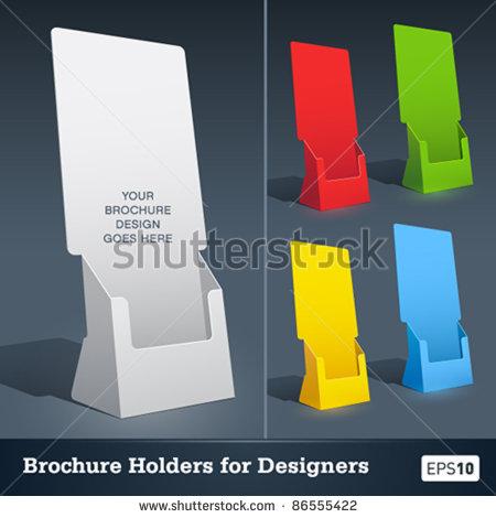 Brochure Holder Template