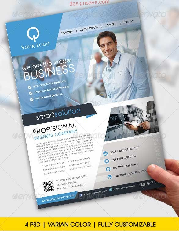 Business Flyer Design Templates