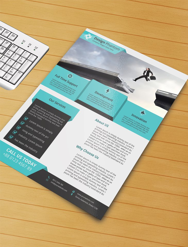 Business Flyer Templates Psd Free Download