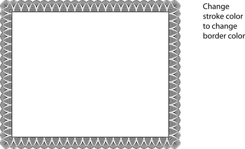 12 certificate frame vector images free vector