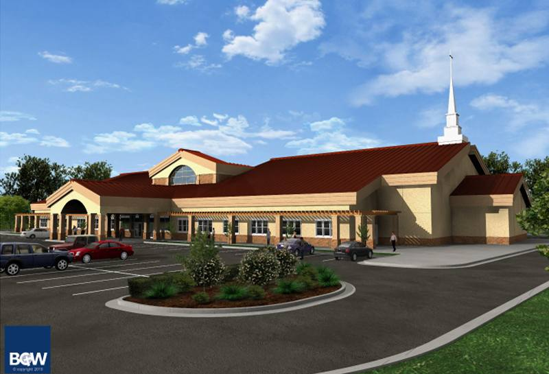 14 Church Building PSD Images