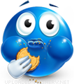 7 Cookie Monster Eating Emoticon Images