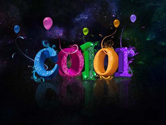 16 Cool Photoshop Text Effects Images