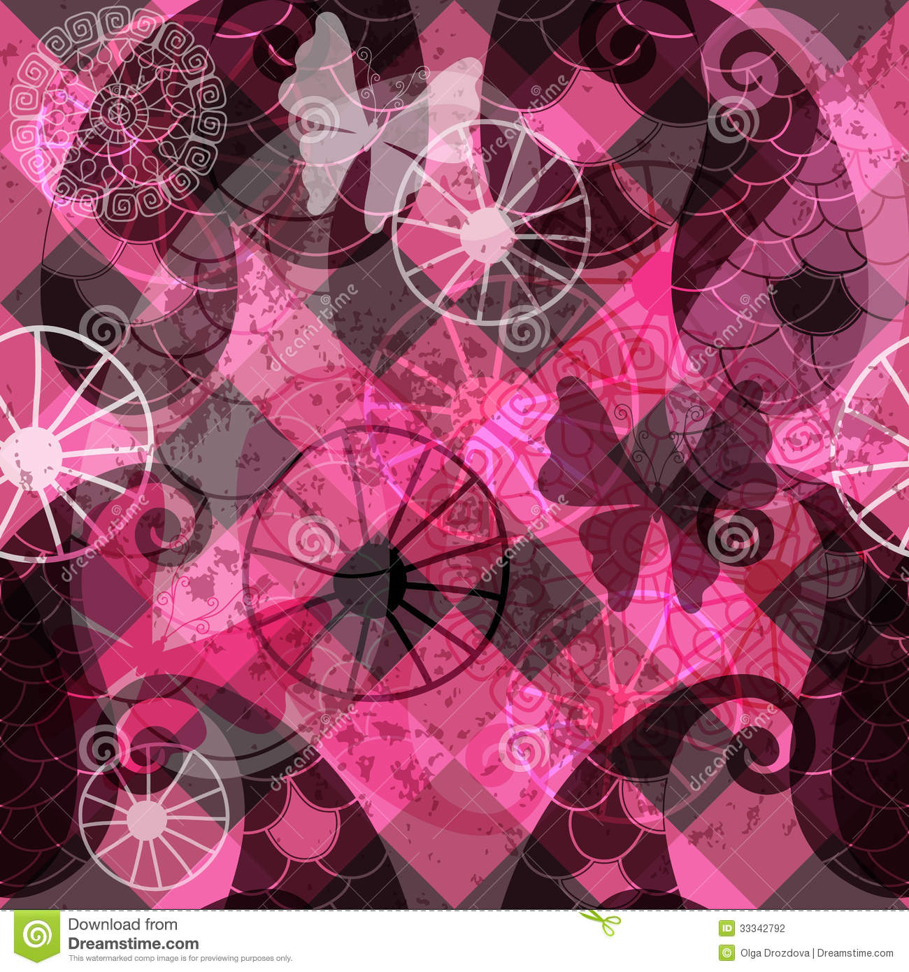 15 Abstract Purple Salon Vector Translucent Images