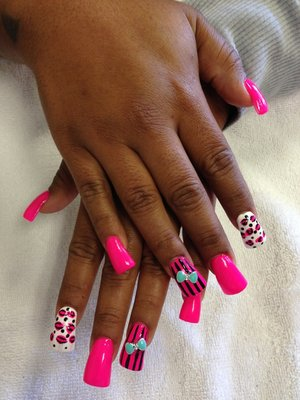 15 3D Duck Feet Nails Designs Images