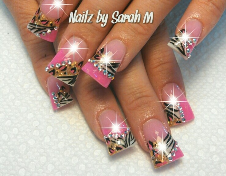 Duck Feet Nails Designs