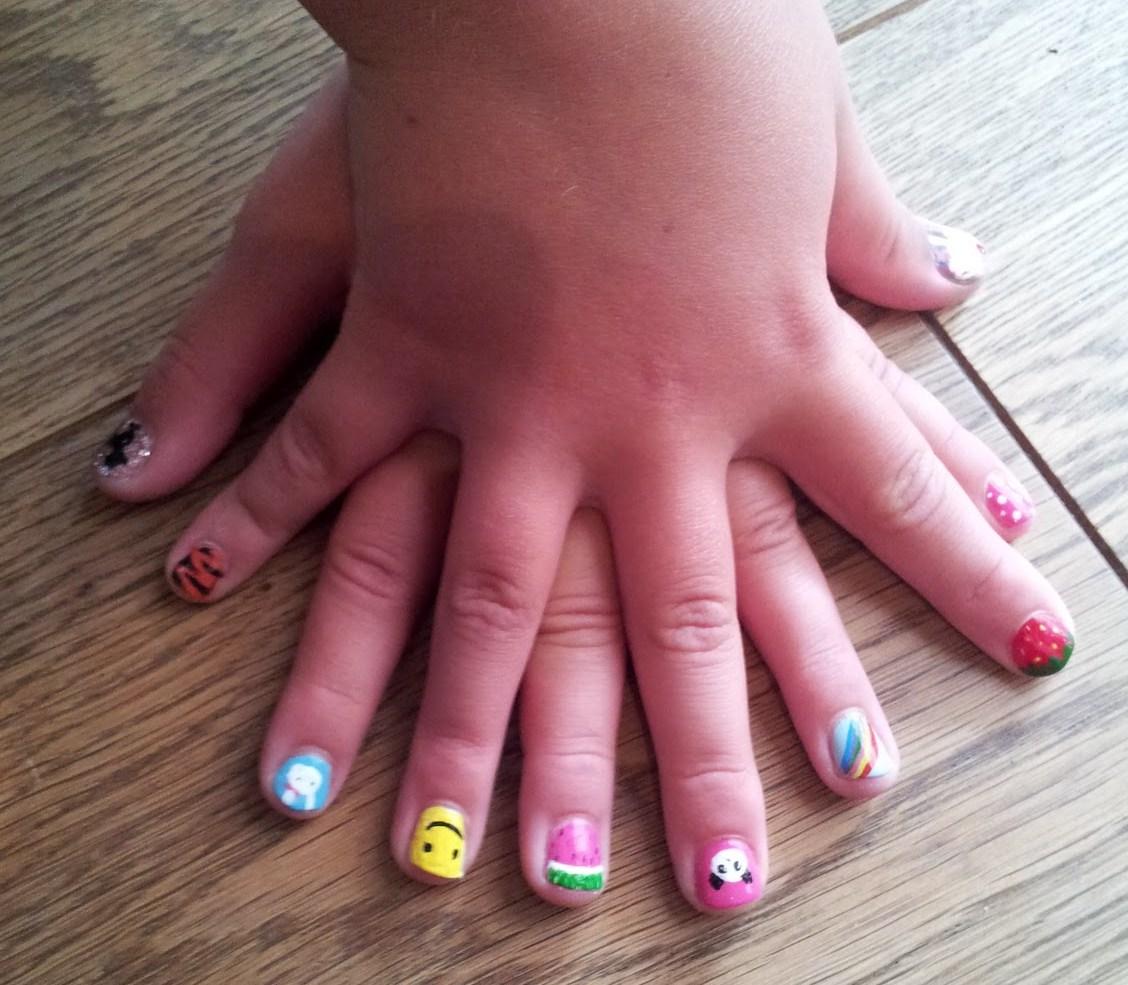 11 Kids Nail Art Designs Images Easy Nail Art Designs For Kids Easy To Do Nail Designs For Kids And Easy Nail Designs For Kids Newdesignfile Com
