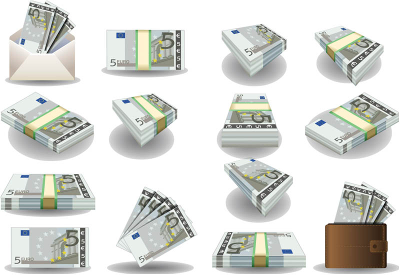 Euro Money Clip Art