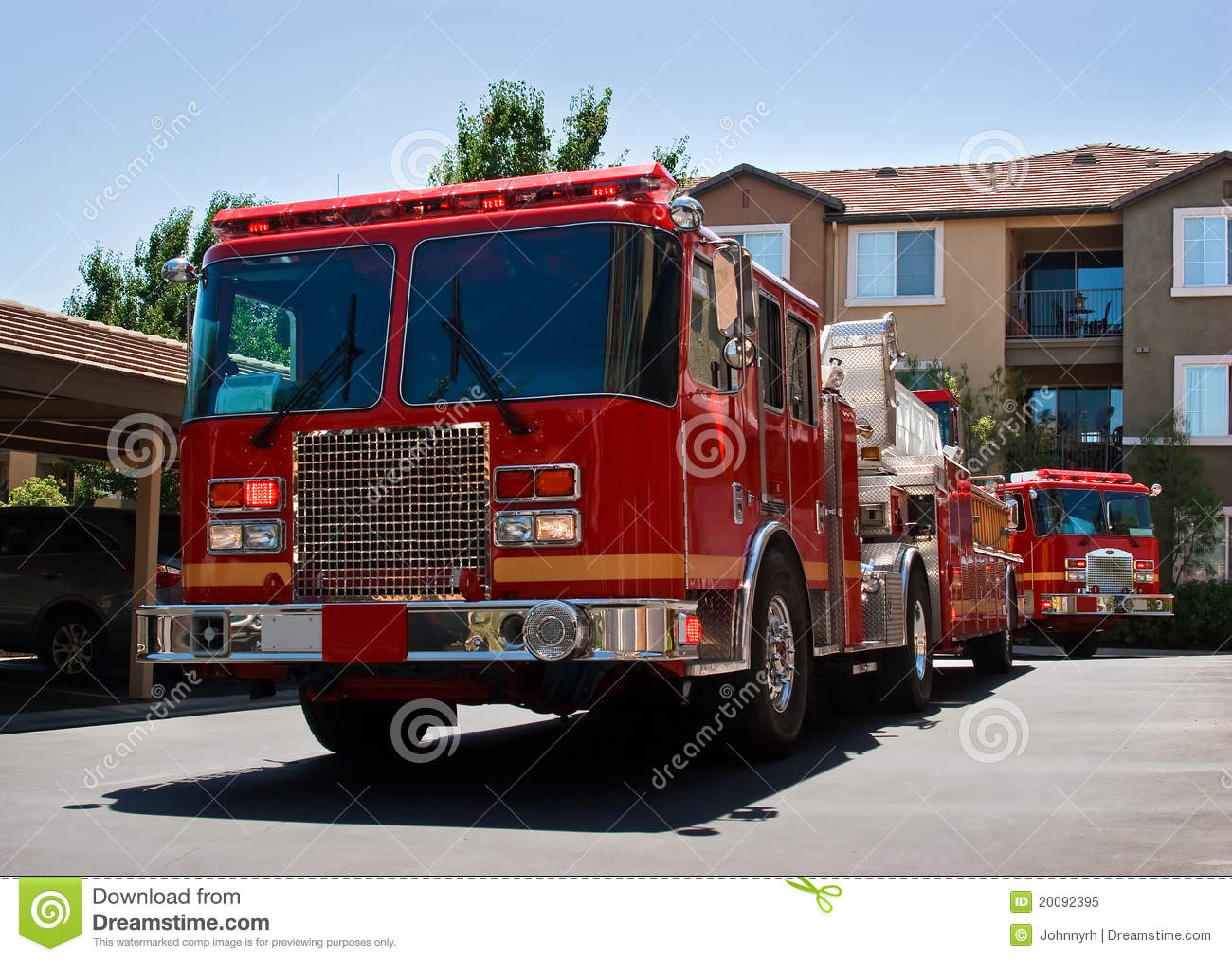 Fire Truck Engine