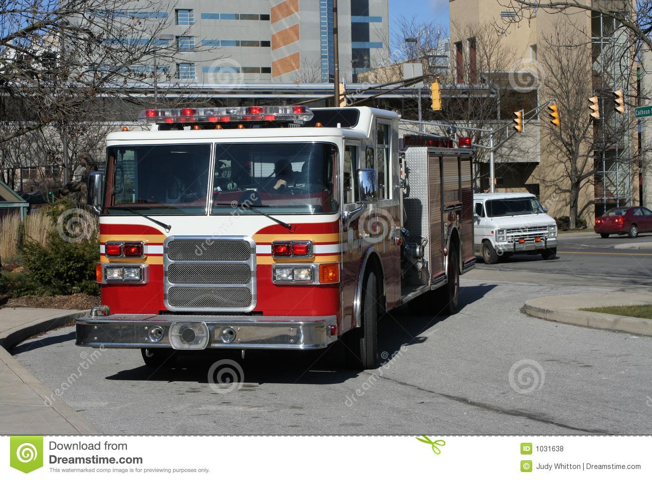 Fire Trucks Responding