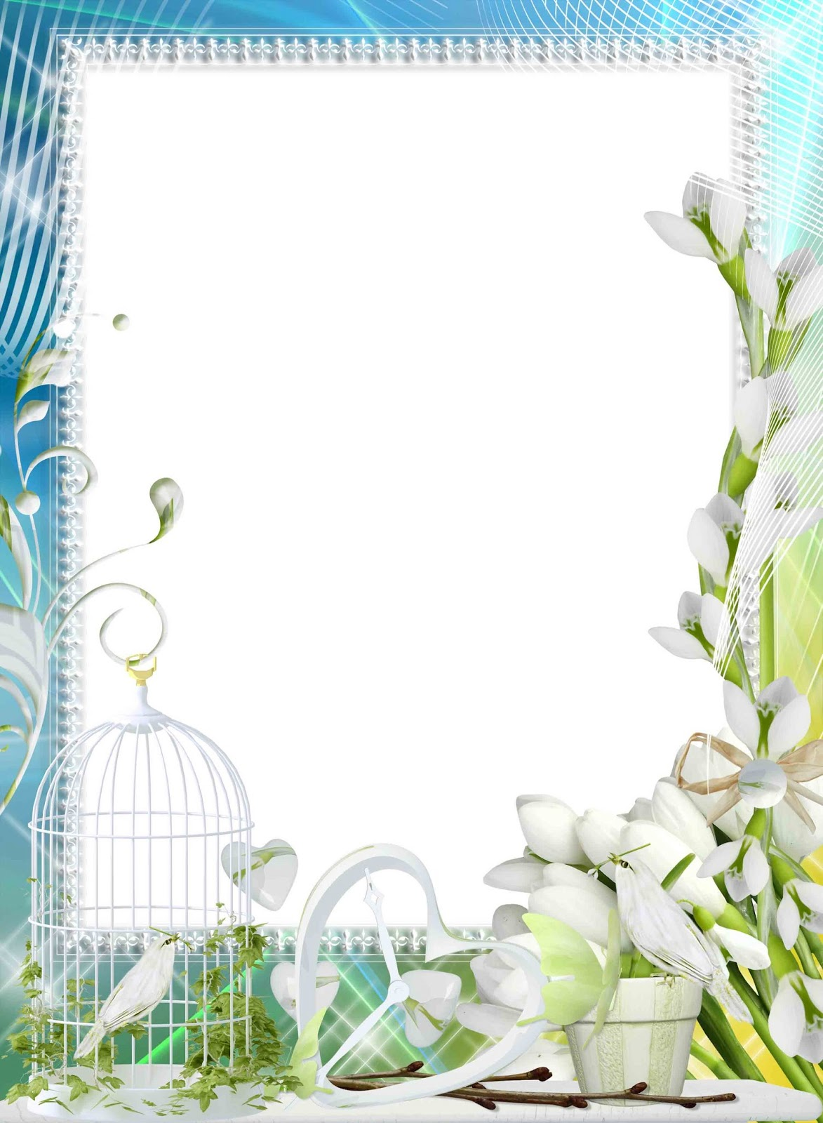 Flower Frames Free Download