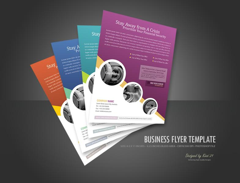 19 Business Flyer PSD Template Images