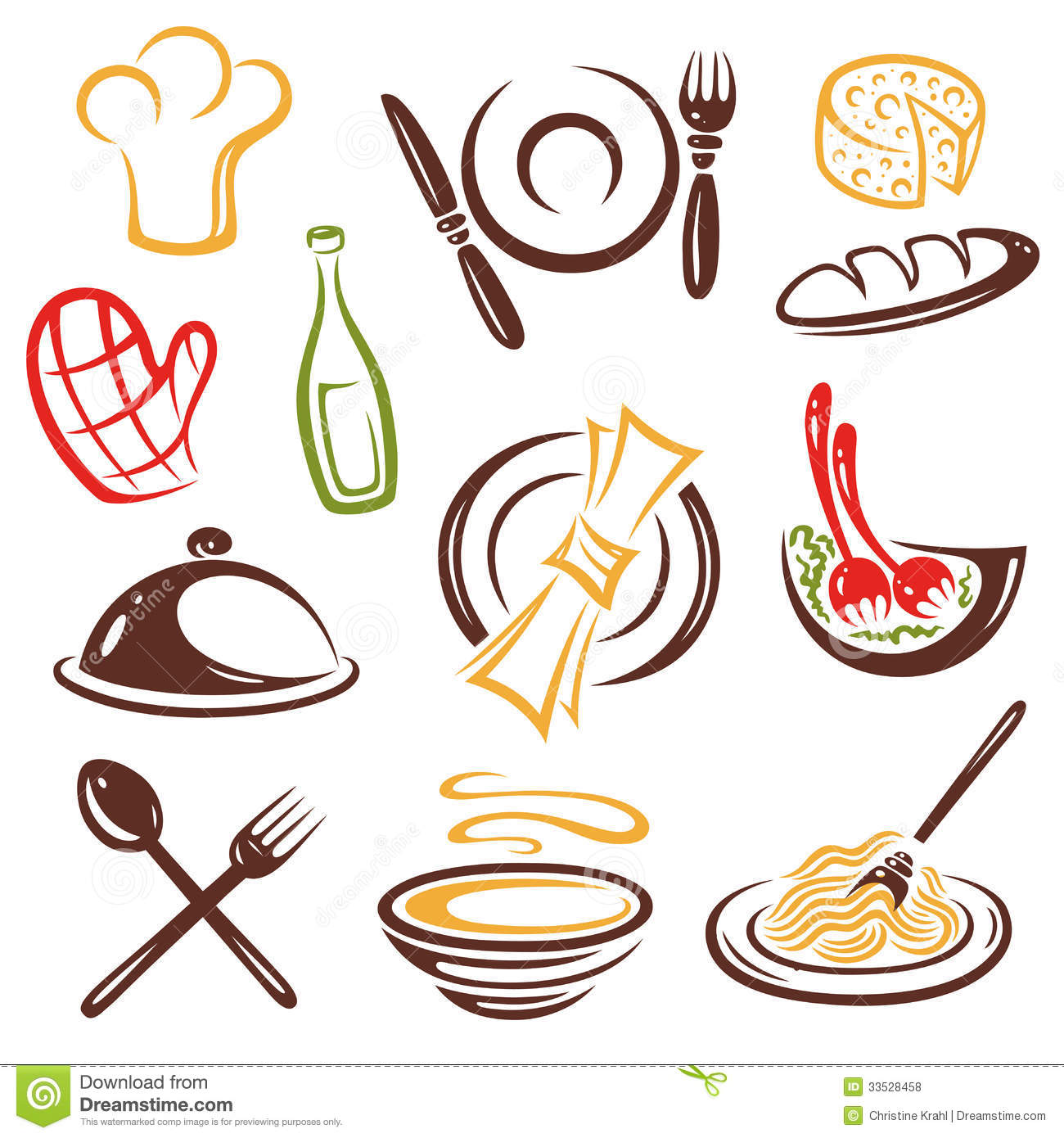 18 Cooking Vector Free Images Food Icon Vector Free