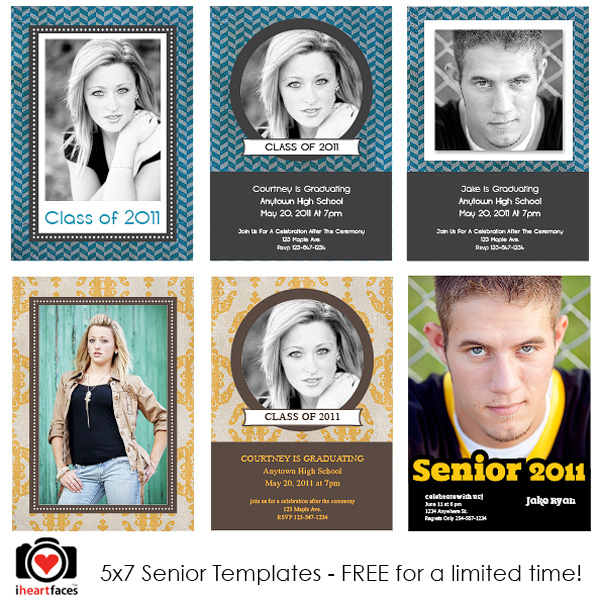 Free Graduation Templates Photoshop