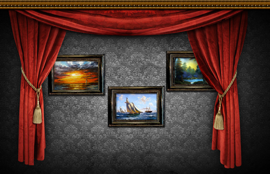 11 Wall Paint On A PSD Images