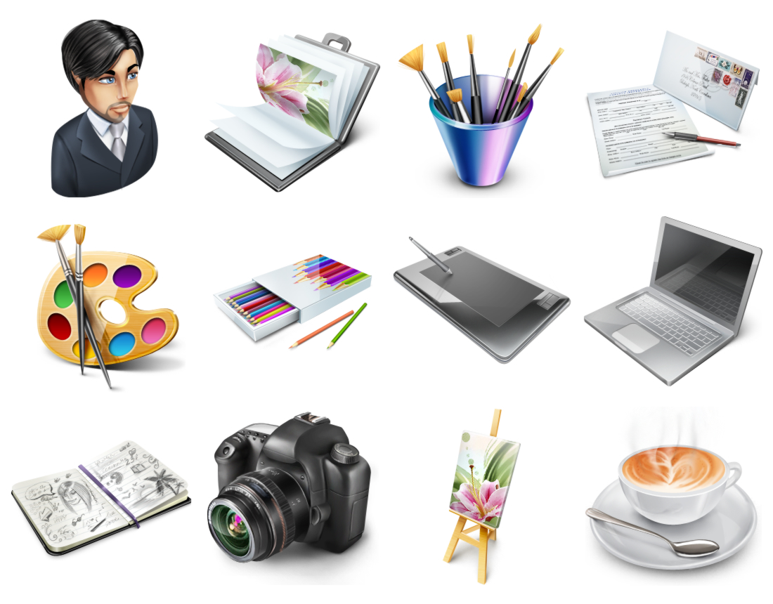 Free Portfolio Icons
