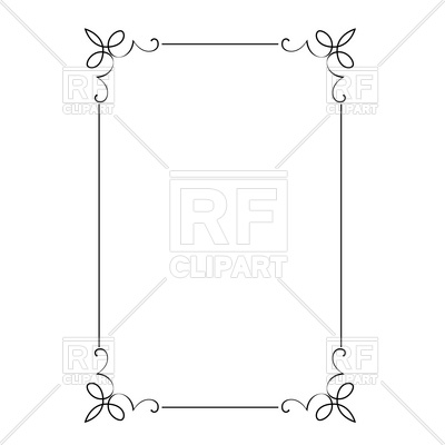 Free Vector Borders and Frames