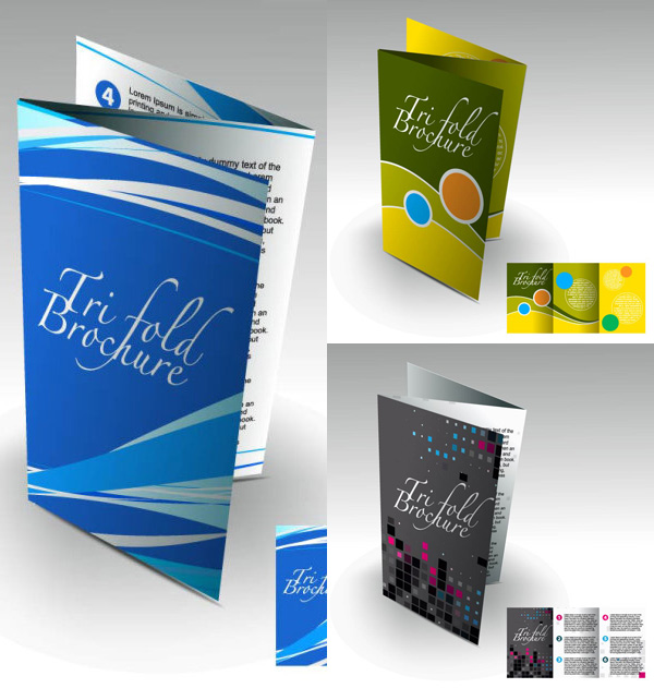 7 Brochure Display Template Images Free Vector Brochure Templates
