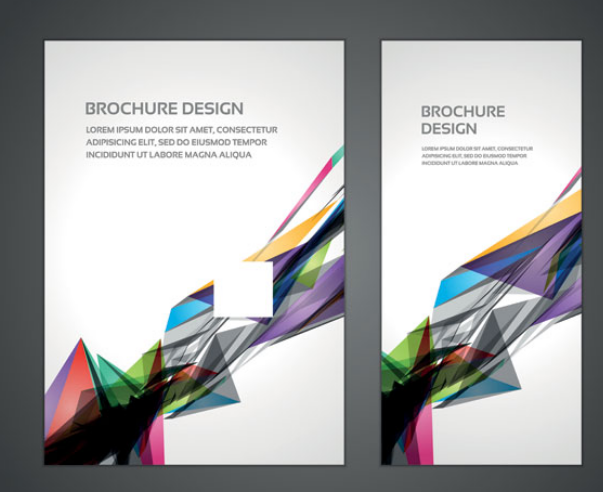 7 Brochure Display Template Images