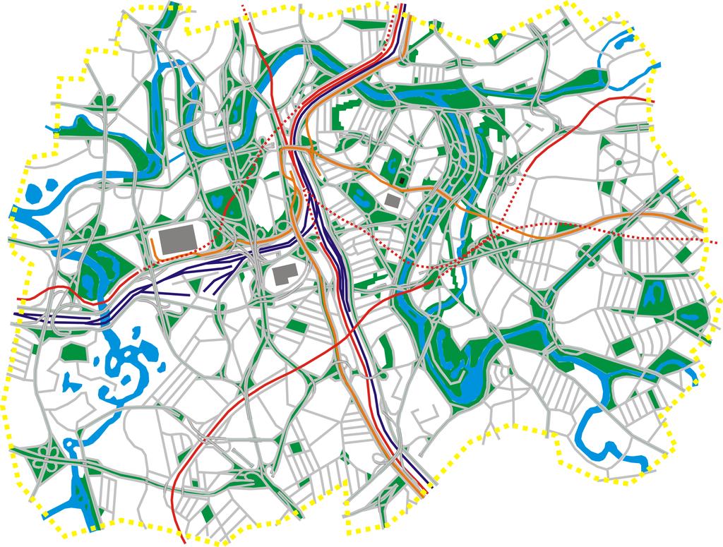 Free Vector City Maps