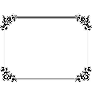 Free Vector Decorative Borders