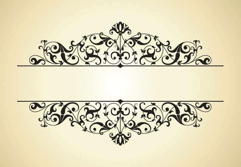 Free Vintage Border Designs