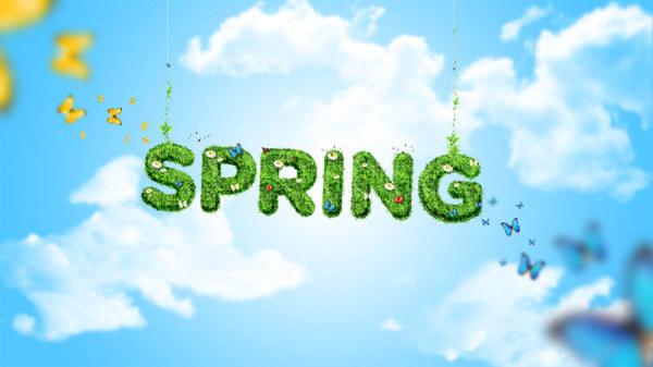 Free Wallpaper Spring Design