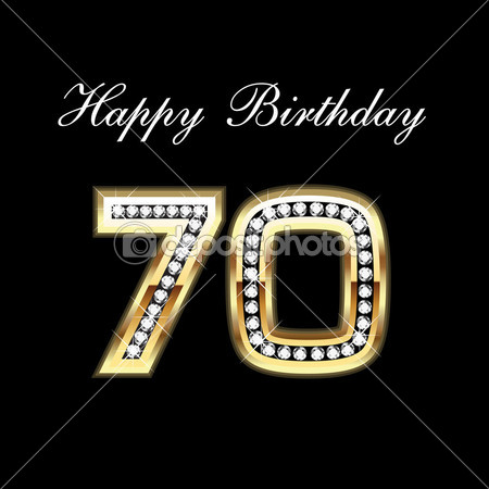 17 70th Birthday Vector Images