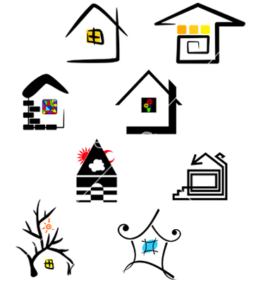 18 Free Icon Vectors House Solids Images