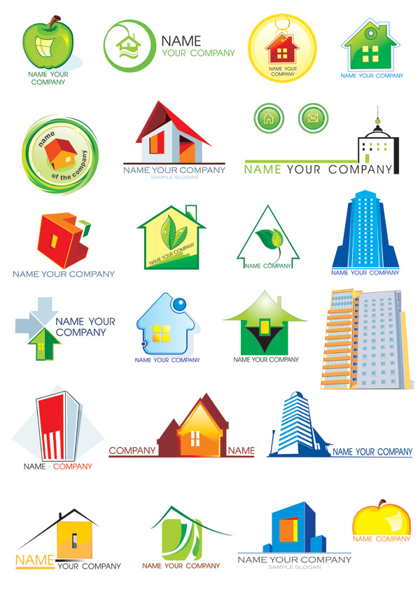 House Logo Vector Free Downloads