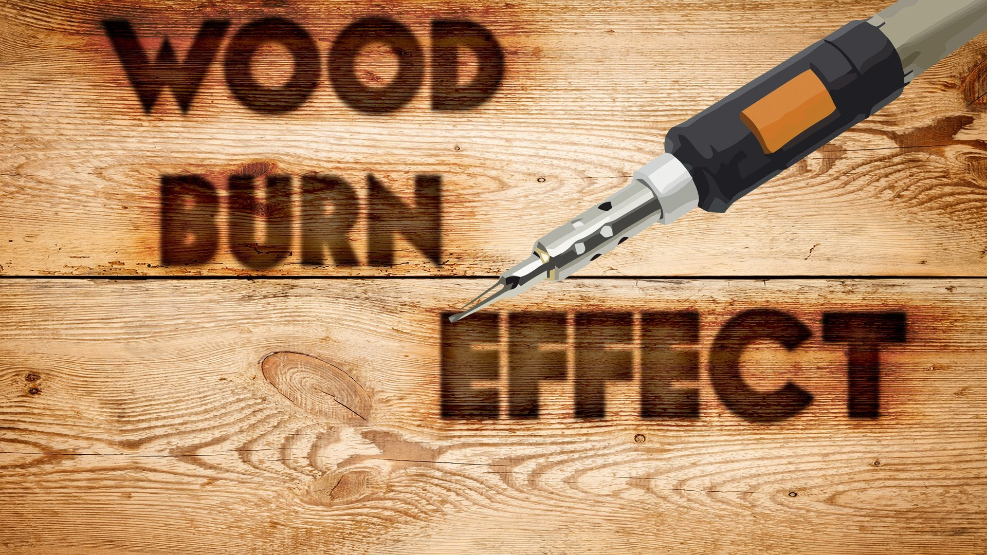 How To Wood Burn Fonts Into Photoshop