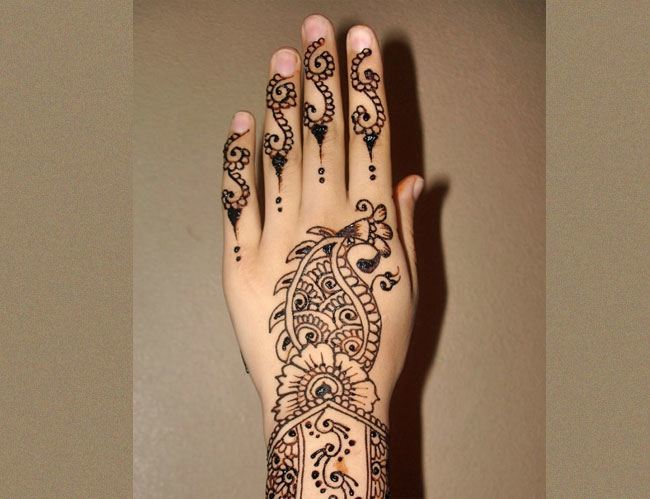 Indian Henna Designs Meanings