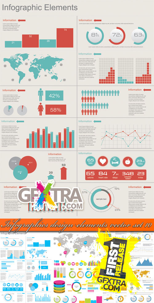 8 Free Infographic Vector Elements Images