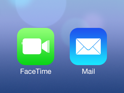 iOS 7 App Icon Template PSD