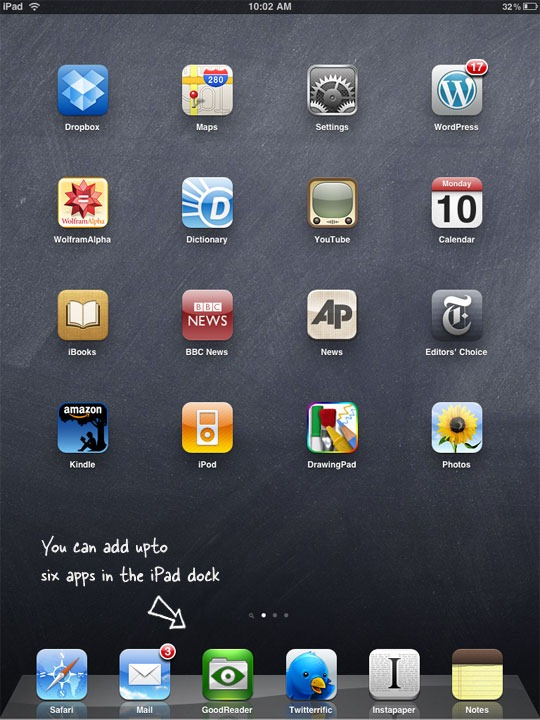 iPad Home Screen App Icon