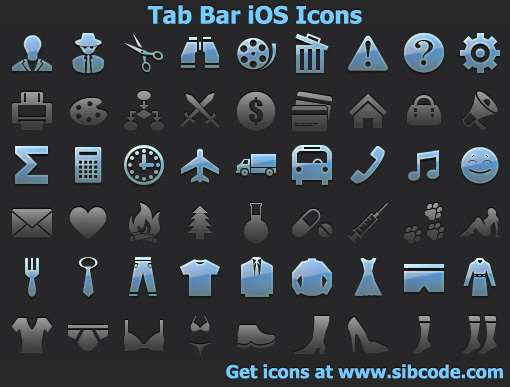 16 IOS Dev Icons Images